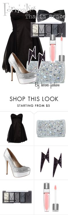 """""""Formal for Thalia Grace"""" by heroes-fashion ❤ liked on Polyvore featuring Elise Ryan, Miss Selfridge, ALDO, H&M and Lancôme"""