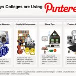 20 Interesting Ways Colleges are Using Pinterest ...too bad I can't pin these sites. (O: