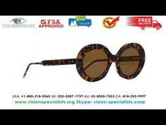 Thom Browne TBS 510 02 Sunglasses Thom Browne Sunglasses, Tbs, Round Sunglasses, Youtube, Round Frame Sunglasses, Youtubers, Youtube Movies