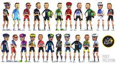 Poly Peloton: Tour de France 2015 : The 22 Teams