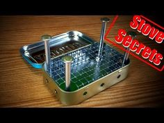 Mint Tin Stove | Badass Improvised Survival Gear - 7 Easy Prepper Projects #survivallife www.survivallife.com
