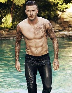 David Beckham this man is just is just he's just just