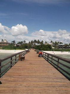 Pier in Naples, Florida