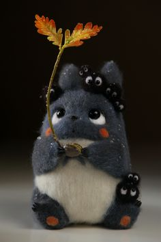 Felted animals Mais