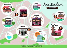 Cool Hotspots in Amsterdam.
