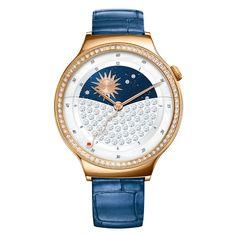 Huawei Lady Watch Blue Leather Ten model Huawei Watch został specjalnie dedykowany dla kobiet, które uwielbiają modne dodatki i nowe technologie. Hauwei Watch przedstawia połączenie prawdziwego zegarmistrzowskiego rzemiosła z wyjątkowymi mobilnymi technologiami jakie prezentują tzw. wearables. #timetrend #smartwatch #huawei #blue