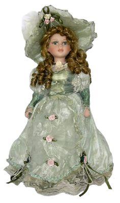Victorian Porcelain Doll-Stunning Victorian doll-Porcelain Victorian Doll-Sofia