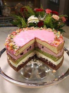 Ciasto Maryla - przepis Ewy Wachowicz Polish Desserts, Polish Recipes, Tasty, Yummy Food, Dessert Drinks, Food Cakes, Ale, Cake Recipes, Food And Drink