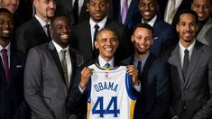 Presidential picks: Obama likes Warriors Pats