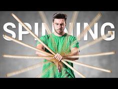 Learn Staff Spinning: 3 Staff Tricks - YouTube Body Shaper For Men, Pen Tricks, Ridge Wallet, Bo Staff, Martial Arts Techniques, Martial Arts Training, Chakra Meditation, Wing Chun, Aikido