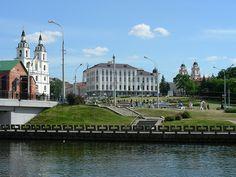 The city of Minsk in Belarus  via LeoKoolHaven