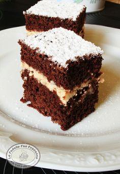 torta al cacao con mascarpone al caffè