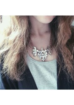 Art Deco Inspired Statement Necklace 17,90 € #happinessbtq