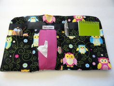 Car Visor Organizer Caddy  Car Caddy  Tissue by SewProDesigns, $22.00