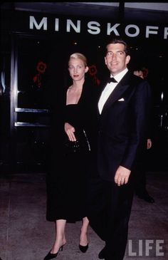 Dedicated to the late Carolyn Bessette-Kennedy, 1966-1999