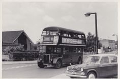 London Country bus RT 3246 at Potter Street, Harlow, Essex - 19 August 1972 | Flickr - Photo Sharing!