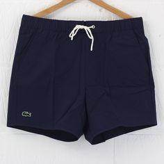 Lacoste Live Swim Short (Navy Blue) #lacoste #live #swimmers #menswear