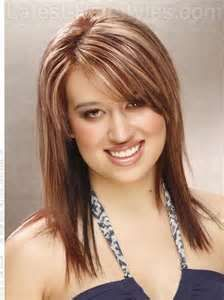 Image detail for -Flattering Medium Length Hairstyles for Women With Round Faces