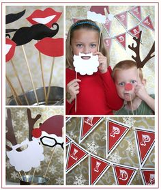 Christmas Photo Booth - for december birthdays