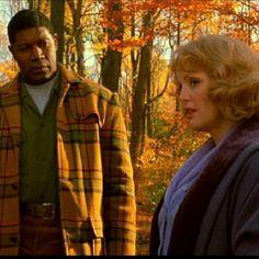 """julianne moore and dennis haysbert. """"far from heaven."""" 2002"""