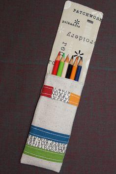 Zakka Style Pencil Case by flickrdeb50, via Flickr