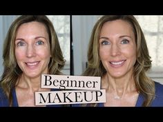 Easy Beginner Makeup Tutorial ~ All Drugstore - New videos every Tuesday & Friday! Welcome to Hot&Flashy! Makeup, Anti-Aging Skincare, & Fashion for Women in Their Hot-Flash Years By a Woman in Her Hot-Fla… - Best Makeup Tutorials, Makeup Tutorial For Beginners, Best Makeup Products, Beginner Makeup, Beauty Products, Revolution, Diy Spa Day, Makeup Tools, Makeup Ideas