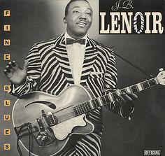 J.B. LENOIR - FINE CHESS RECORDING ARTIST.