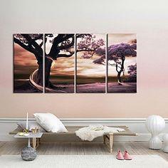 luckydonkey | Rakuten Global Market: Contemporary art in modern ... Living Room Art, Living Spaces, African Sunset, Modern Canvas Art, Fantasy Setting, Decoration, Contemporary Art, Bedroom Decor, Tapestry