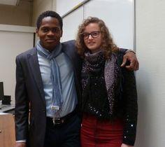 Nonso et Manon, ancienne stagiaire chez Chooka et étudiante de l'IMS