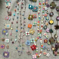 Sophie Digard necklaces: