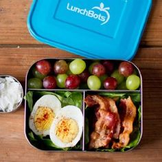 Amazon.com: LunchBots Trio Stainless Steel Food Container, Stainless Steel: Lunch Boxes: Kitchen & Dining