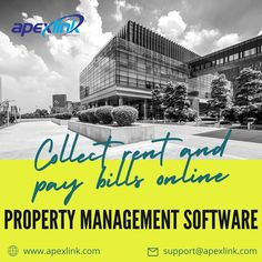 Are you looking for software which helps to collect rents and pay bills online? If yes, then you have reached the right place. ApexLink is a highly reputable #software designed using the latest technology that consists of exclusive features. 🏦 Want to enhance your #property business? Choose ApexLink software. For more details 📞call us at our helpline number 800-310-6702 To Collect, Best Practice, Latest Technology, Property Management, Software, Number, Business, Store, Business Illustration
