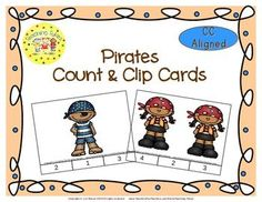 Practice counting 1 to 20 with Pirates.