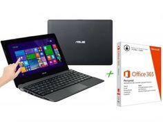 Notebook Asus R103BA AMD A4 - 2GB 320GB + Pacote Aplicativo Office 365 Personal com as melhores condições você encontra no Magazine Daclaudiam. Confira!