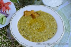 Most Indian food is simple to make and very, very rewarding to eat. Khichdi pronounced as khich-ah-ree, is one such simple and satisfying meal of rice lentil and vegetables which can be cooked quic...