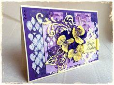 Z bratkami Handmade Birthday Cards, Handmade Cards, Frame, Decor, Craft Cards, Picture Frame, Decoration, Diy Birthday Cards, Decorating