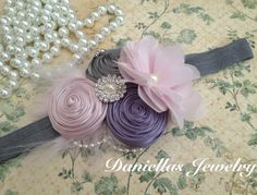 Baby headband, Vintage headband ,Baby headbands, Baby girl headband, toddler headband