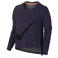 Nike Sphere Dry L/S Top - Women's - Purple / Black