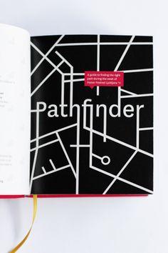 Pathfinder by Petra Bukovinski, via Behance