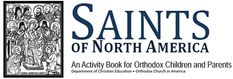 """The Saints of North America activity book is the first in a series of online resources from the Department of Christian Education of the Orthodox Church in America. It offers biographical information about twelve saints whose lives and witness built up the Church in America.    In addition there are striking black and white drawings of each saint, based on their icons, and an array of puzzle activities which will give students a challenging and enjoyable way to learn more about each one."""