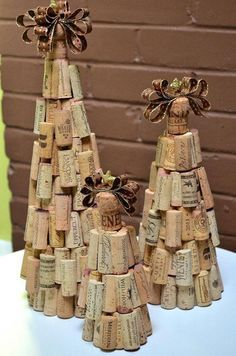20 Brilliant DIY Wine Cork Craft Projects for Christmas Decoration #winecorkcrafts