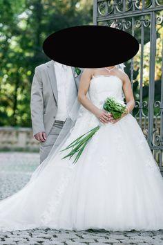 ♥ Pronovias Traum Brautkleid Original Modell Domingo 2014 Kollektion Gr. 36 ivory ♥  Ansehen: http://www.brautboerse.de/brautkleid-verkaufen/pronovias-traum-brautkleid-original-modell-domingo-2014-kollektion-gr-36-ivory/   #Brautkleider #Hochzeit #Wedding