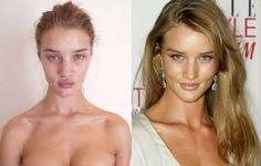 Resultado de imagen para modelos sin maquillaje
