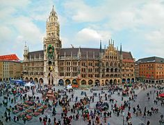 Ornate architecture from around the globe -Muenchen