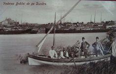 BRAILA - Vederea BRAILEI de pe DUNARE - 1912