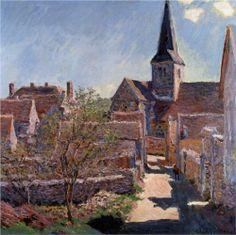 Bennecourt - Claude Monet
