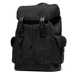 buy online 7978d 7f864 Ghurka Walker Collection Black Backpack, Men s Backpack, Duffel Bag,  Leather Satchel, Luggage