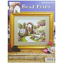 Tobin Garden of Peace Bead Point Kit with 8 by Pr Cross Stitch Kits, Cross Stitch Patterns, Fabric Crafts, Sewing Crafts, Needlework Shops, Bead Kits, 10 Picture, Needlepoint Patterns, Online Craft Store