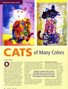 Art Inspired / Units and Curriculum for Elementary