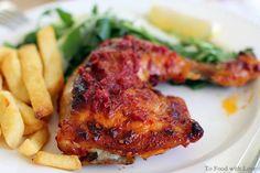 Portuguese Chicken with Piri-piri Sauce